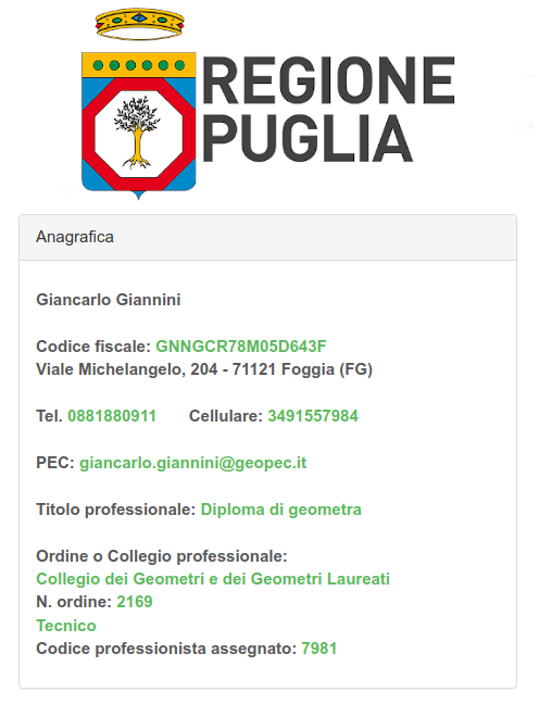 Accreditamento APE Regione Puglia